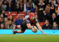 Guinness PRO12 Newport Gwent Dragons vs Scarlets