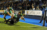 Guinness PRO12 Cardiff Blues vs Connacht