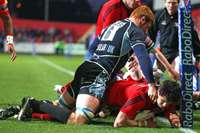 Munster v Glasgow Warriors, 14/04/2012