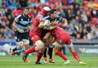 Guinness PRO12 Scarlets vs Cardiff Blues