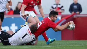 Magnificent seven as Munster go top of Guinness PRO12