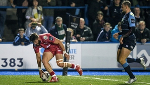 Scarlets make it four in a row with derby win over Cardiff Blues