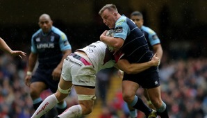 Rees re-signs with Cardiff Blues