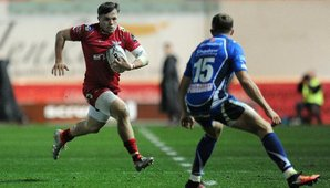 Evans at the double as Dragons' resistance is broken